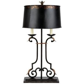 Olde world table lamp 45