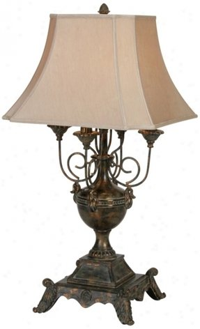 Olde World Table Lamp Foter