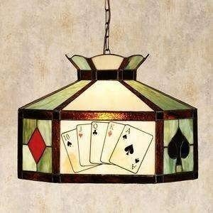 Poker table lamp 1