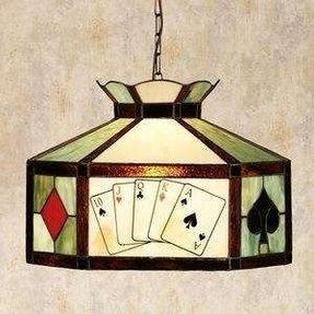 Poker Table Lamp - Foter