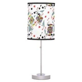 Poker Table Lamp Foter