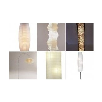 Rice Paper Lantern Floor Lamp Foter