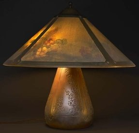 Roycroft copper table lamp foter roycroft copper table lamp 6 mozeypictures Image collections