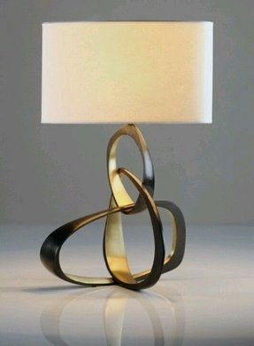 Sculpture table lamp 3