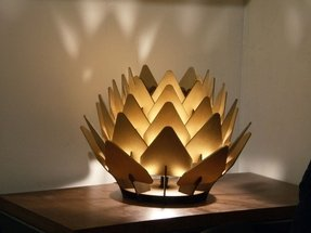 Sculpture table lamp 39