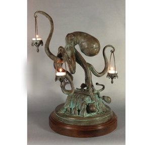 Sculpture table lamp 8