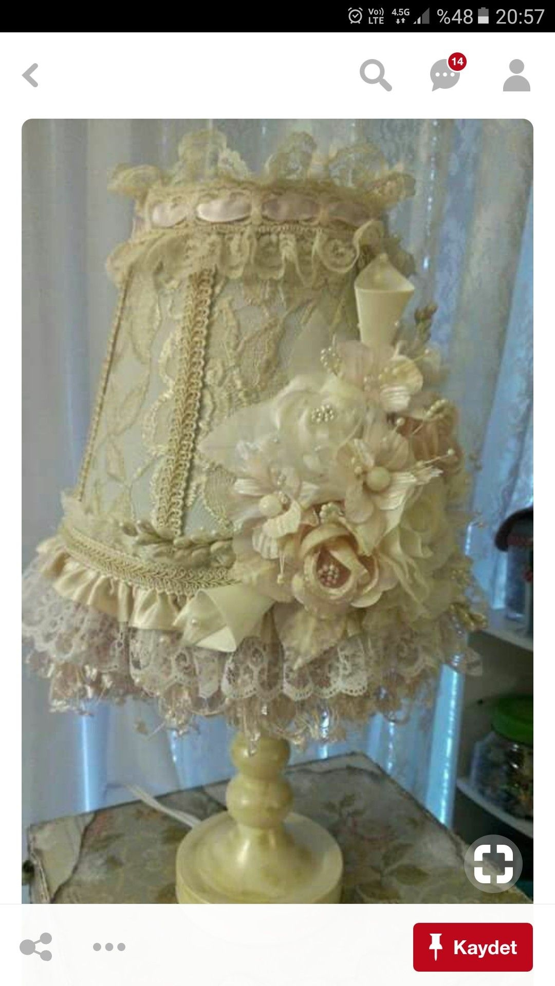 Shabby Chic Lamp Shades For Sale