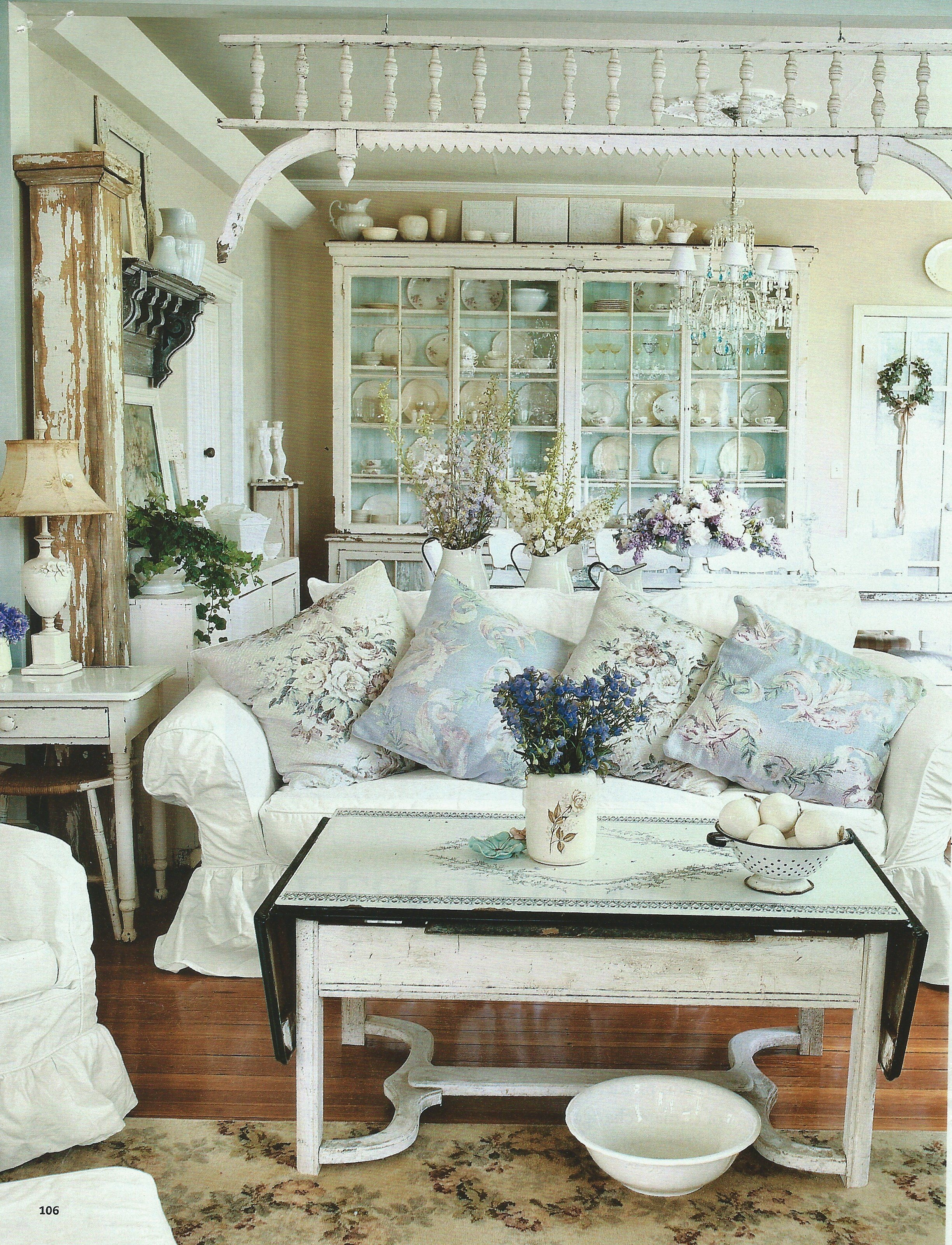Shabby Chic Living Room Design Ideas 4