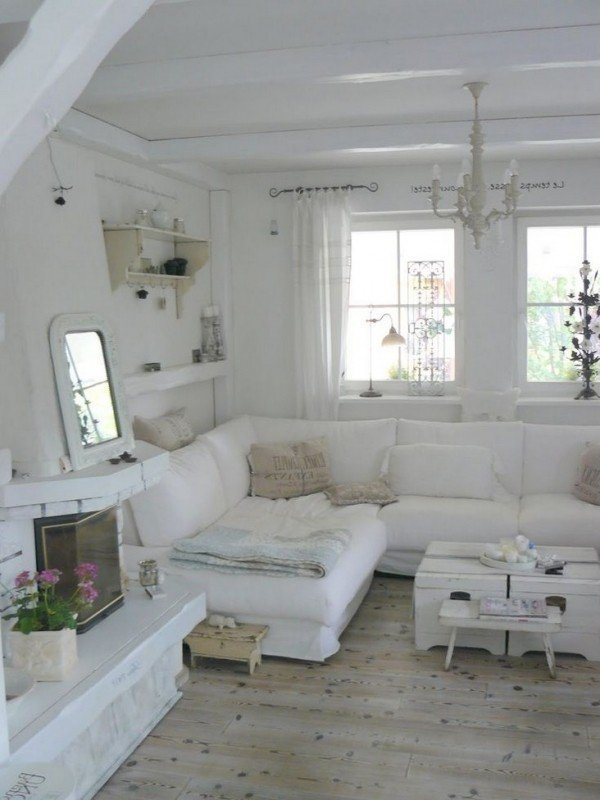 Shabby Chic Living Room Ideas 7