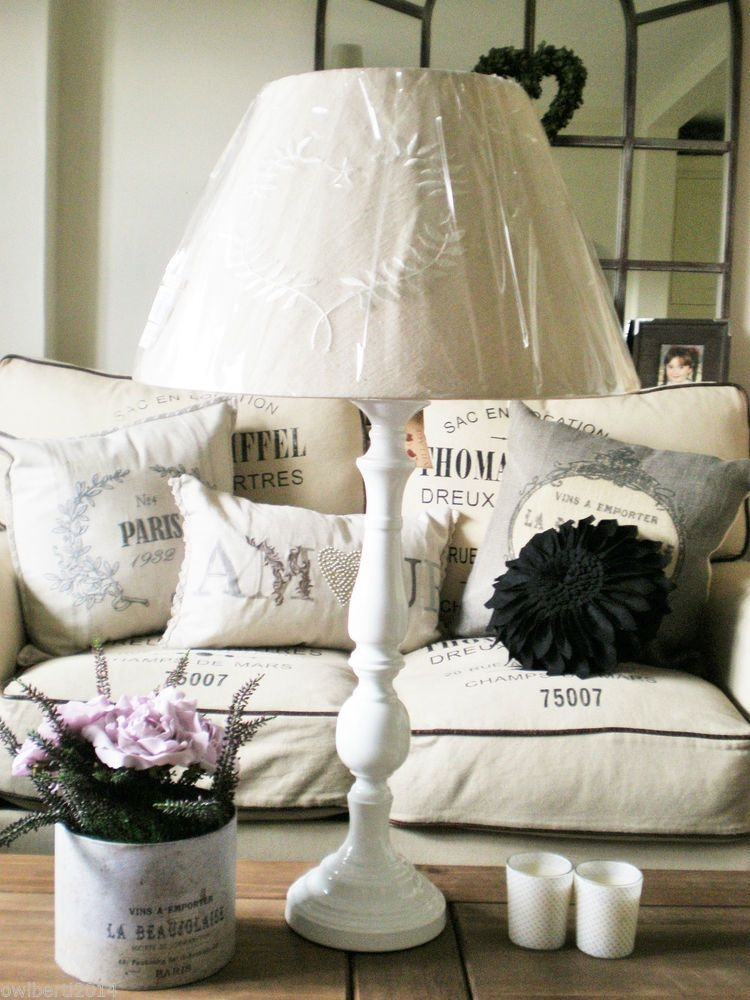 Shabby Chic Vintage Table Lamp 28
