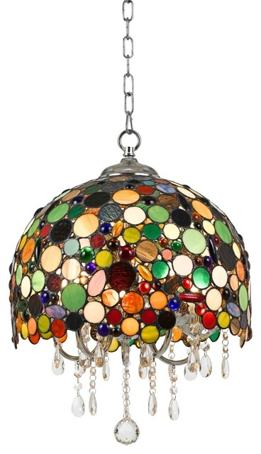 Beau Stained Glass Light Fixtures Dining Room