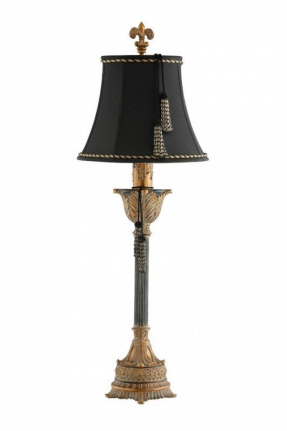 Tassel shade table lamp 1