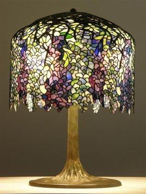 Art Nouveau Lamp Foter