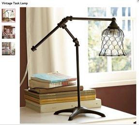 Vintage Cast Iron Lamp Light Foter