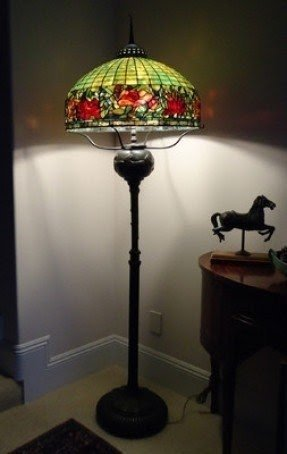 Are reproduction lamp shade for vintage lamp