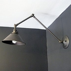 Wall mounted task lamp 36