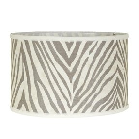 Zebra lamp shade 9