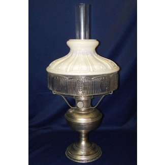 Antique 1920s complete aladdin model 11 kerosene lamp w no
