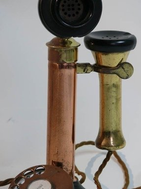 Antique Brass Candlestick Table Lamp Foter