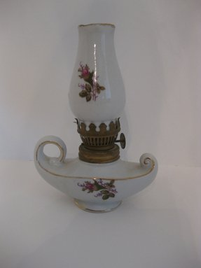 Porcelain Rose Lamp Foter