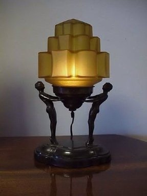 antique art deco lamps foter
