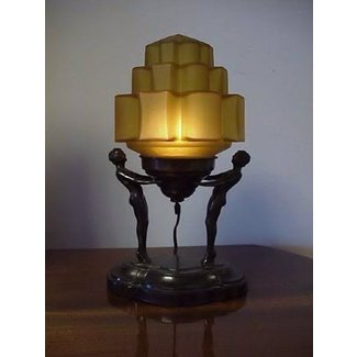 Art deco lamp 5