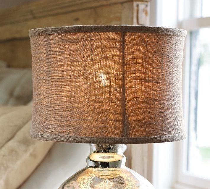 Good Burlap Lamp Shades 6