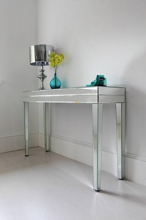Console tables mirrored