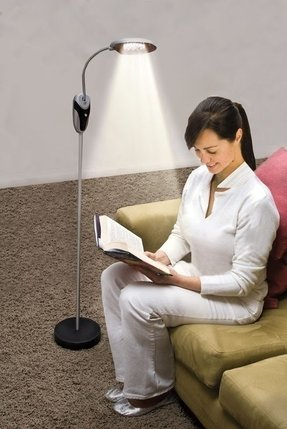Cordless reading lamp 12
