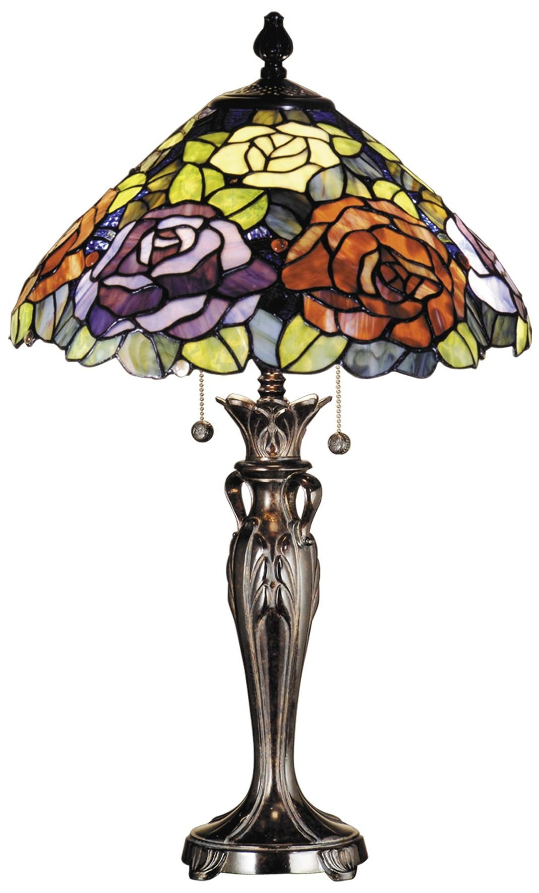 Dale Tiffany Rose Lamp
