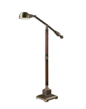 Pharmacy style floor lamp foter ethan allen floor lamps aloadofball Gallery