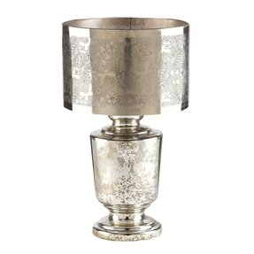Glass mercury table lamp 7