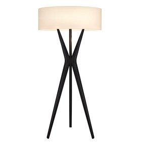 Glass Shade Candle Floor Lamp Foter