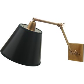 Hardwired Swing Arm Wall Lamp 1