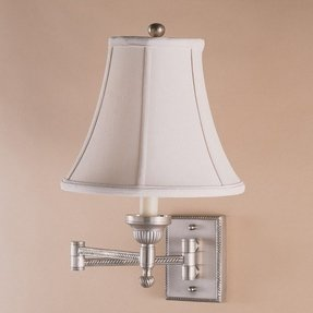 Hardwired Swing Arm Wall Lamp Foter