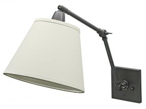 Hardwired swing arm wall lamp 2