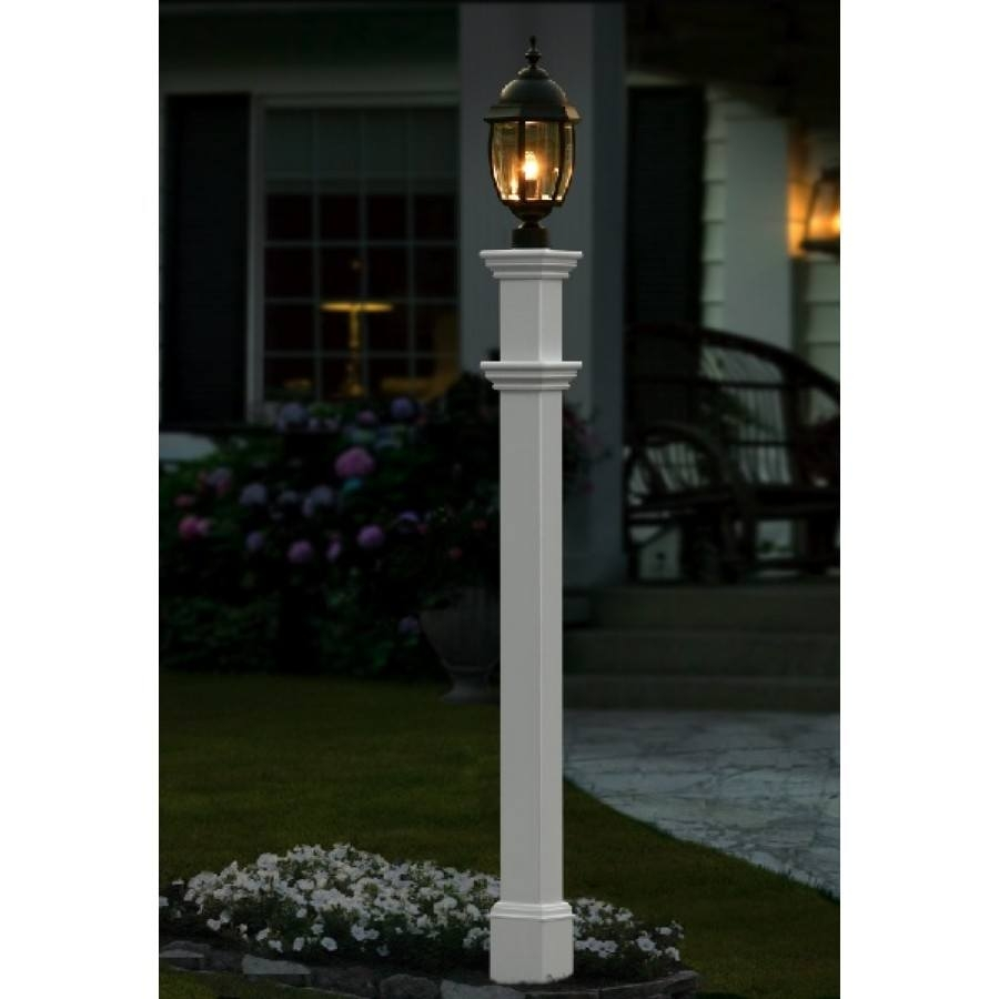Lamp post covers