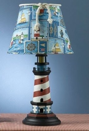 Nautical lighthouse lamp 2