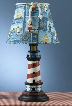 Captivating Nautical Lighthouse Lamp 2