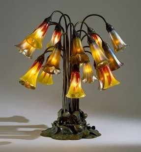 Pond lily lamp 10