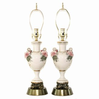 Porcelain Rose Lamp Ideas On Foter