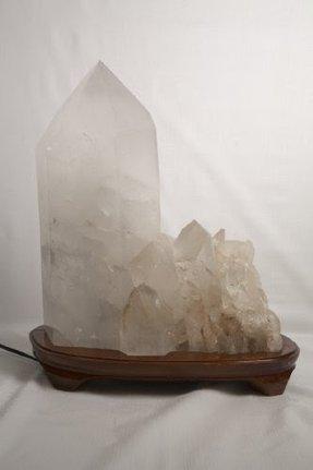 Quartz Crystal Lamp Foter