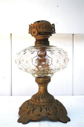 Glass Kerosene Oil Lamp Foter
