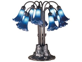 Pond lily lamp foter tiffany lily lamp shades aloadofball Gallery