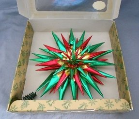 Vintage christmas tree star