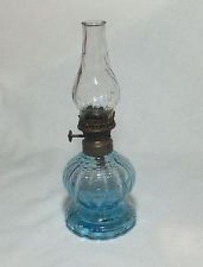 Vintage Miniature Oil Lamps