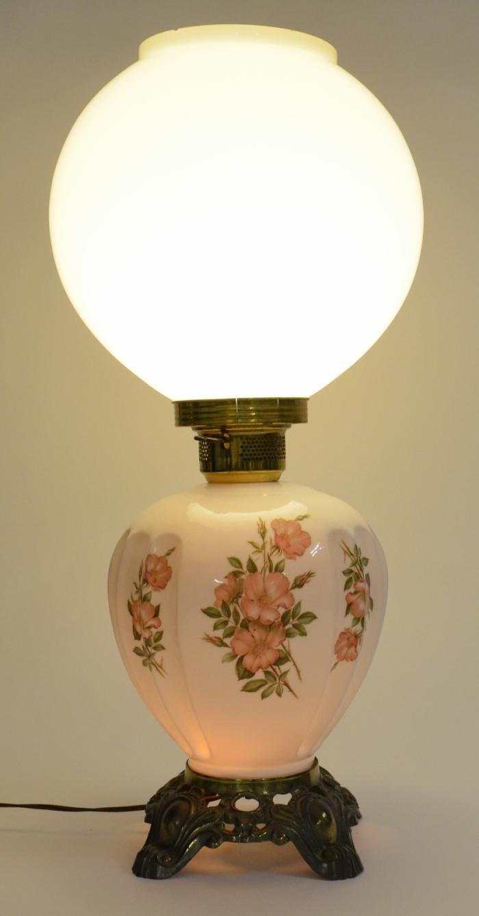 Old fashioned globe lamps 71