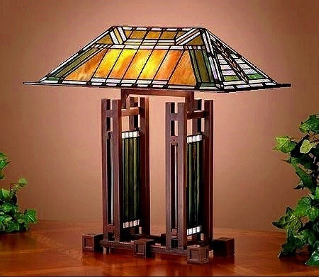 Marvelous Frank Lloyd Wright Table Lamp 1