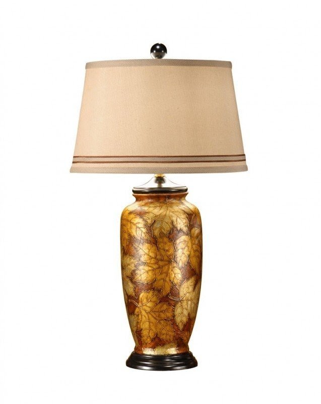 Hand Painted Table Lamps