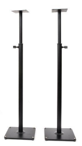 Heavy duty pa dj club adjustable satellite speaker stand ms06bp